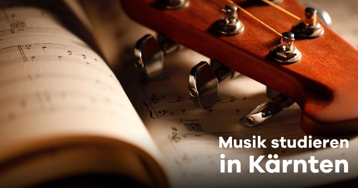 Musik studieren in Kärnten